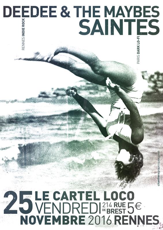 Concert @ Cartel Loco - 2016 - © chantiersgraphiques.com